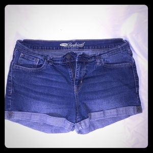 Size 8 old navy jean shorts